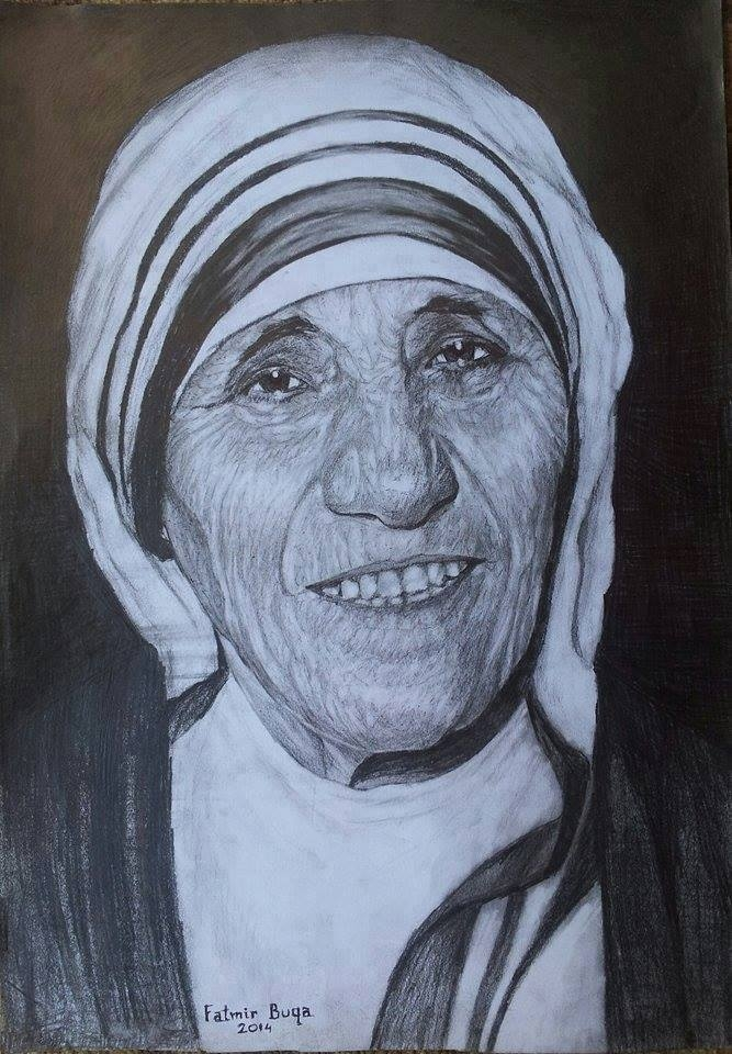 Mother Teresa by Fatmirbuqa